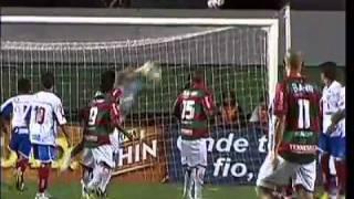 É Gol!!!Após vitória por 3 a 0 sobre a Portuguesa, torcedores do Esquadrão de Aço não param de comemorar. O Rival Vitória não foi esquecido.