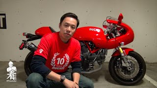 3. 看你�師摩托車評 - 2007 Ducati Sport Classic 1000S Bike Review