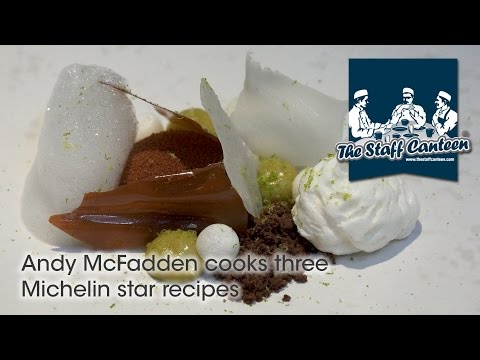 Andy McFadden cooks three Michelin star recipes