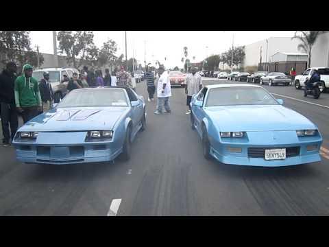 blue devil 'right' vs other iroc 'left' -