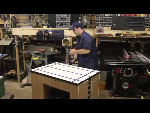 Ultimate Shop Cart w/Rockler T-Track Table: StumpyNubs