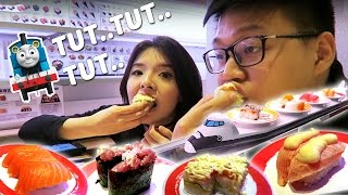 Video Kereta Sushi yang Paling Enak!!! MP3, 3GP, MP4, WEBM, AVI, FLV Juli 2017