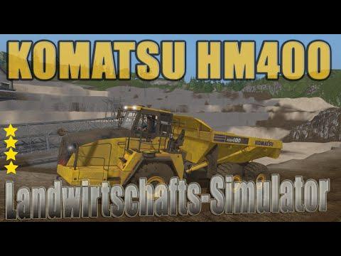 Komatsu hm400 v1.0