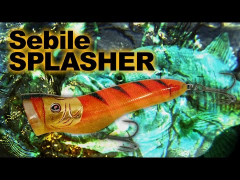 Sebile Splasher 72 videó