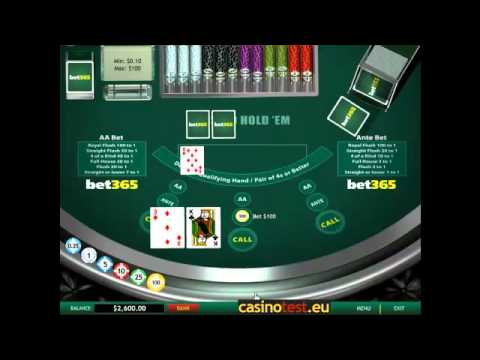 Casino Hold'em Video