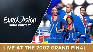 Scooch represented United Kingdom at the 2007 Eurovision Song Contest in Helsinki with the song Flying The Flag