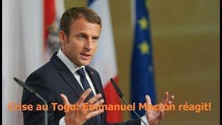 Crise au Togo : Emmanuel Macron réagit!