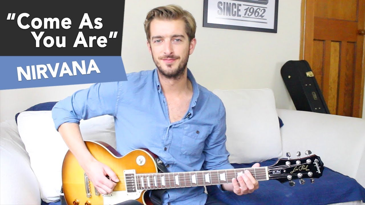 Come As You Are – Nirvana Guitar Lesson – Beginners Easy Riff #12