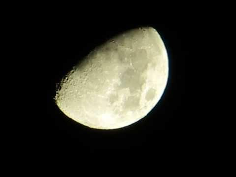 Mond-Zoom mit der Canon Powershot SX240 HS