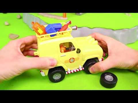 Itfaiyeci Sam oyuncak - itfaiye kamyonu Çocuk Oyuncakları - Fireman Toy Vehicles