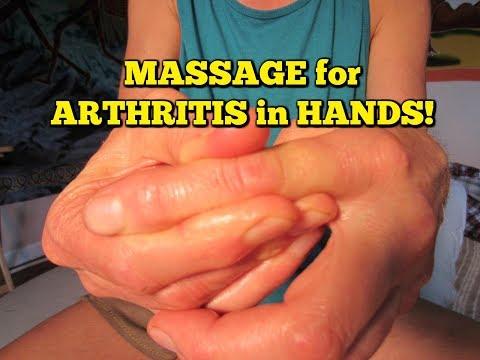 * Arthritis Pain RELIEF * Hands & Fingers! * Massage Exercises!