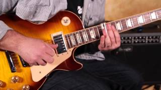 Blues Slide Guitar Lesson - Duane Allman and Derek Trucks style Slide Lick Lesson