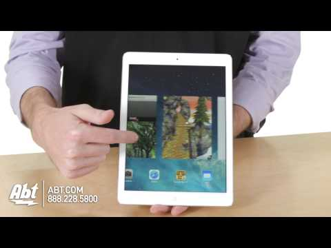 Apple iPad Air - Lighter. Faster. Thinner. From AT&T...
