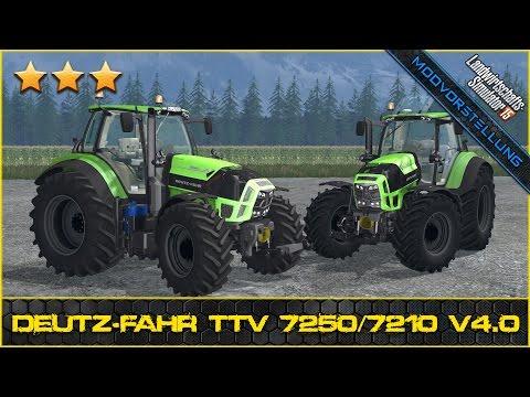 Deutz Fahr TTV 7250 v6.0 WheelShader