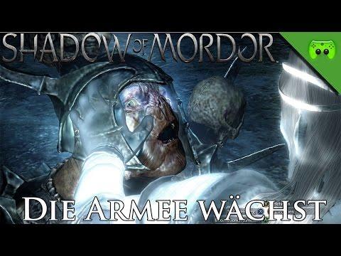 MORDORS SCHATTEN # 23 - Die Armee wächst «» Let's Play Mittelerde Mordors Schatten   HD