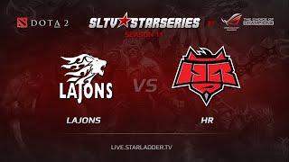 HR vs Lajons, game 1