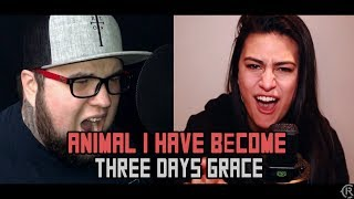Animal I Have Become - Three Days Grace - Cole Rolland (feat. Lauren Babic and Steve Glasford)