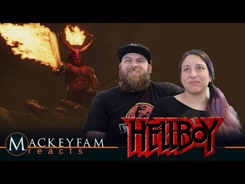 """Hellboy (2019 Movie) New Trailer """"Red Band""""- REACTION and REVIEW!!!"""