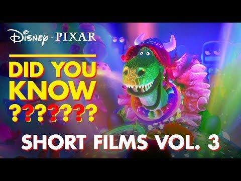 Pixar Short Films Collection Vol. 3   Pixar Did You Know by Disney•Pixar - Thời lượng: 3 phút, 23 giây.