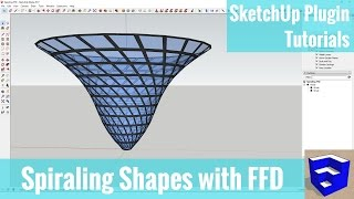 Video Creating Spiraling Shapes in SketchUp with FFD - SketchUp Plugin Tutorials MP3, 3GP, MP4, WEBM, AVI, FLV Desember 2017