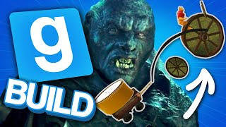 We Made the Torch Uruk-Hai in Lord of the Rings and Used Him to Storm a Castle | Gmod Build