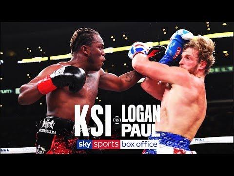 KSI vs LOGAN PAUL 2   FULL FIGHT   9th NOVEMBER 2019
