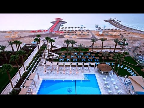 Top10 Recommended Hotels in Ein Bokek, Dead Sea, Israel (видео)