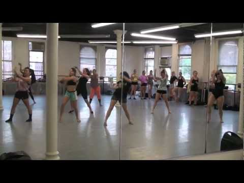 Joffrey Ballet School NYC Jazz/Contemporary Program Jazz Class W/ Ashani Mfuko