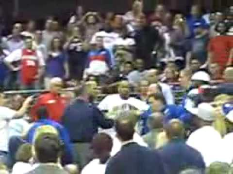 Bloomdaddy Defends Lebron James in Detroit, Get's Punched.