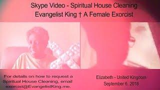 Spiritual House Cleaning #1 - Skype Video - Elizabeth in UK