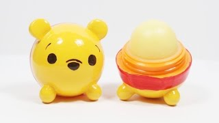 DIY EOS Lip Balm: Pooh Tsum Tsum Tutorial - YouTube