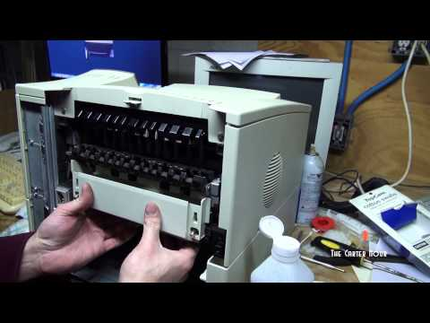 HP LaserJet 4000 Intro and Rebuild Part 3 Final