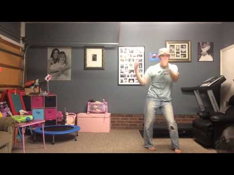 """Father/Daughter Caught Dancing to """"All About That Bass"""""""