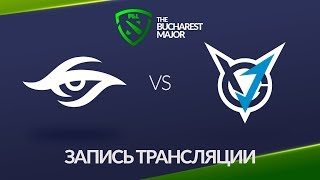 Secret vs VGJ.Thunder, Bucharest Major [Jam, Lum1Sit]