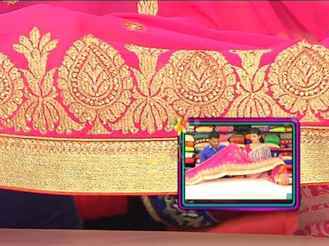 Latest Collection of Designer and Party Wear Sarees | Sogasu Chuda Tarama | Vanitha TV 03 October 2015 05 11 PM