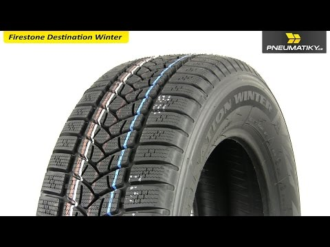 Youtube Firestone Destination Winter 235/65 R17 108 V XL Zimní