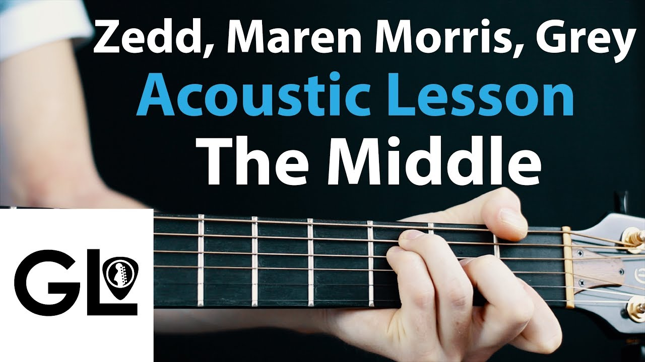 The Middle – Zedd, Maren Morris: Acoustic Guitar Lesson  🎸