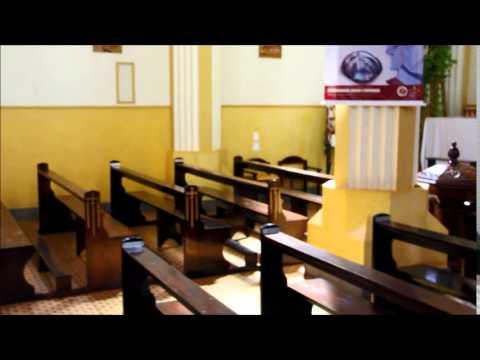 Igreja Santa Teresa DAvila - Guarani das Missões/RS - parte interna - vídeo 02