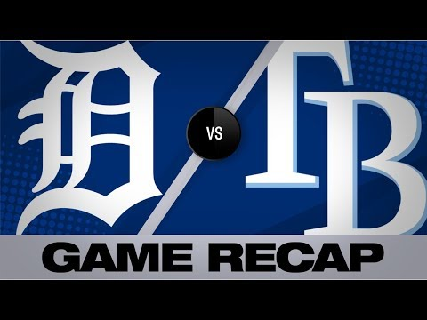 Video: Brosseau walks it off in 13-inning shutout | Tigers-Rays Game Highlights 8/17/19