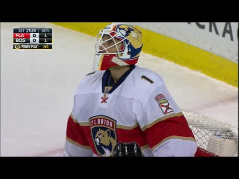 Video: Luongo down and out robs Spooner with glove
