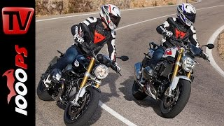 7. 2015   BMW R nineT vs. BMW R 1200 R   Vergleichstest