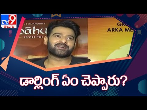 Prabhas Mania in Italy : Media covered the actor on the sets of Radhe Shyam