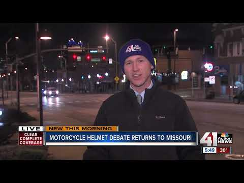 Missouri considers law allowing motorcyclists to ride without helmets
