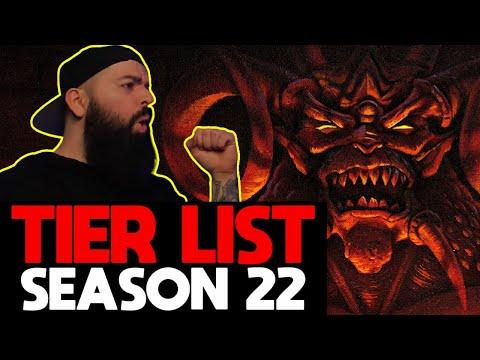 Tier List | Season 22 Patch Build Guide 2.6.10 Diablo 3 Reaper of Souls