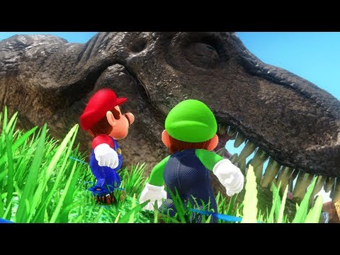 Super Mario Odyssey - 2 Player Co-Op - #01