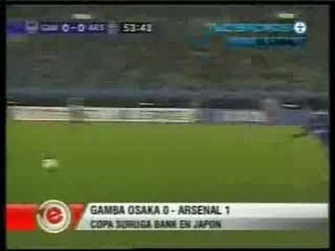 Gamba Osaka 0 - 1 Arsenal (Copa Suruga 2008)