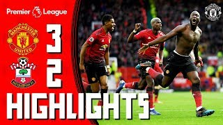 Video Highlights | Manchester United 3-2 Southampton | Romelu to the rescue! MP3, 3GP, MP4, WEBM, AVI, FLV Agustus 2019