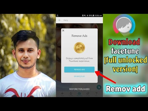 How to download Facetune full unlocked version 2018