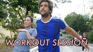 Video Workout with Bolzico by Alex Gonzaga MP3, 3GP, MP4, WEBM, AVI, FLV Maret 2019