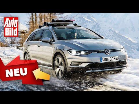 VW Golf 8 (2020): GTI - Variant - Alltrack - Skizze - ...